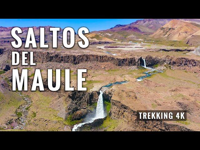 SALTOS DEL MAULE: Trekking 13 Kms en Valle de los Cóndores, Chile (parte 1)