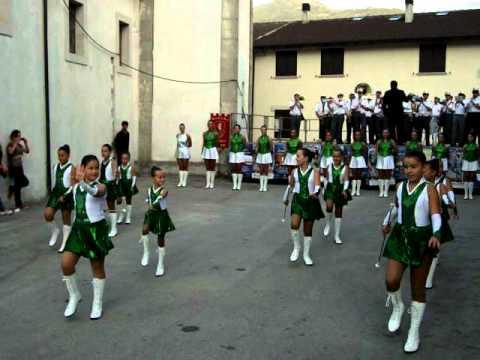 Le allieve Compatrum a Ruscio, fraz. di Monteleone di Spoleto