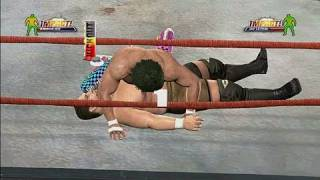 TNA Impact! Xbox 360 Gameplay - Somoa Joe vs. Jay Lethal
