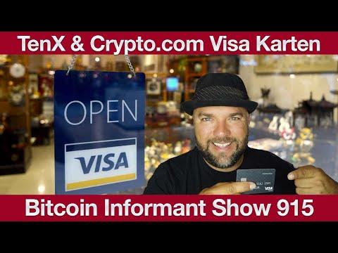 #915 TenX und Crypto com Visa Karten, TikTok BTC Spionage Verdacht & PundiX Krypto per Paypal