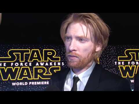 Star Wars: The Force Awakens: Domhnall Gleeson Exclusive Red Carpet Premiere Interview