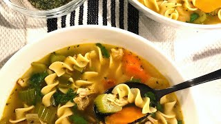 The Cast Iron Chef Chronicles MINISODE 6: Homemade Chicken Noodle Soup