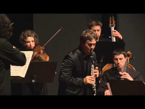 Sebastian Manz: C. M. von Weber, Quintet for Clarinet and Strings, Op. 34 - IV. Rondo