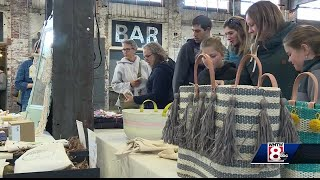 Yard sale held at Thompson
