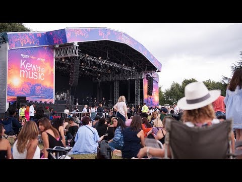 Amazon Premium Packages @ Kew the Music - Customer Feedback