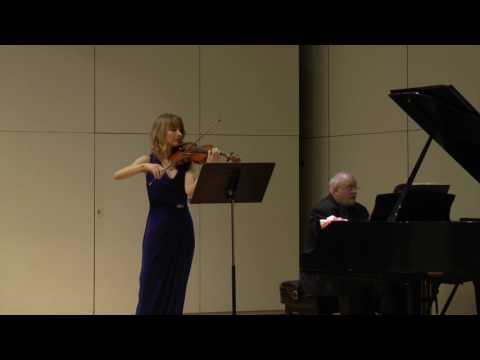 César Franck, Sonata for Violin and Piano, mvt 3, Recitativo-Fantasia