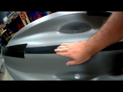 Repeat NEW Kayak Sun Dolphin BOSS SS 12' Keel Guard Project