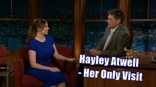 """Hayley Atwell - """"Chris Evans' Breasts Are Enormous"""" - Her Only Appearance"""