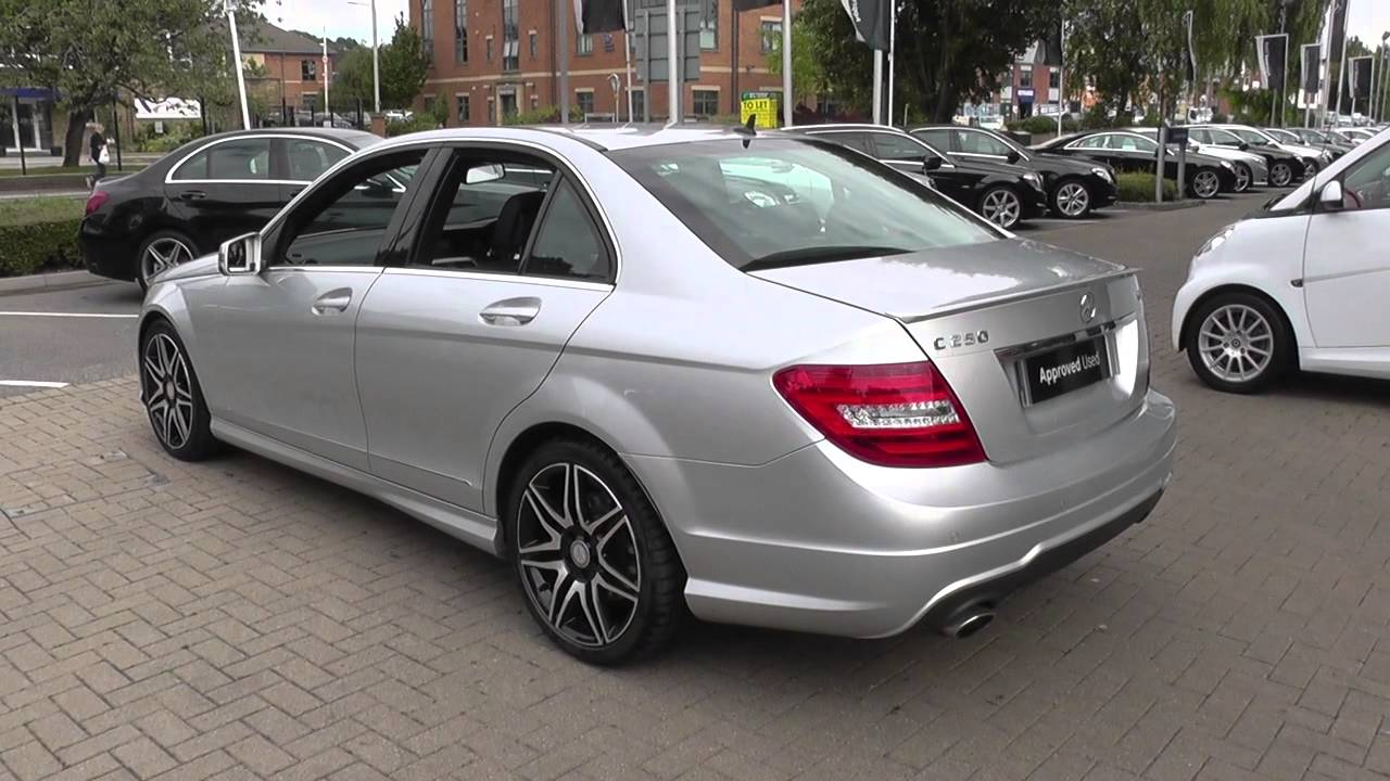 mercedes benz c class c250 cdi blueefficiency amg sport plus 5dr auto u23741 youtube. Black Bedroom Furniture Sets. Home Design Ideas