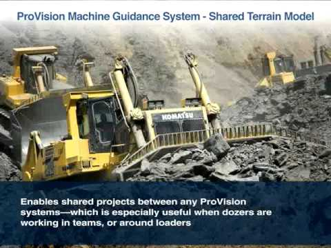 ProVision® Machine Guidance: When Precise to Plan is the only option