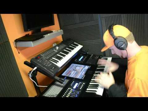 Keyboard Drum Solo on Open Labs Neko XXL