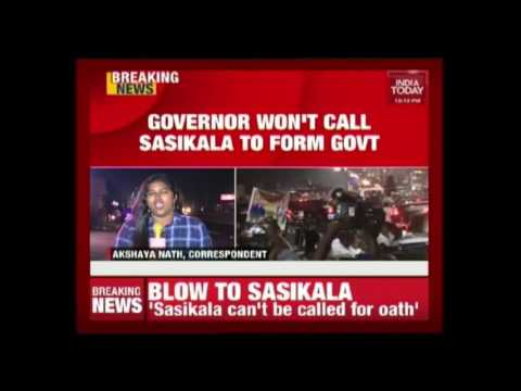 Governor Vidyasagar Rao Rules Out Sasikala For Tamil Nadu CM