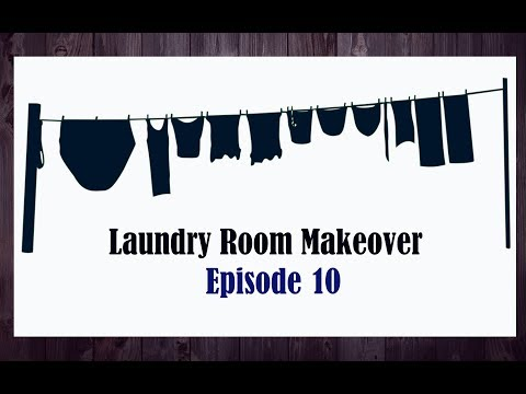Laundry Room Makeover || Episode 10 || Finishing the Window ||