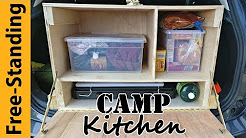 Build: A Free-Standing Camping Kitchen