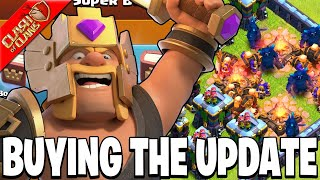 BUYING AND GEMMING THE FALL UPDATE 2020! - Clash of Clans