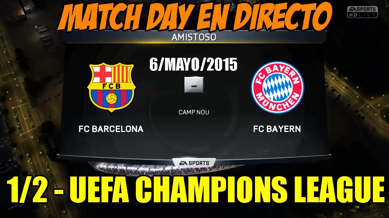 Champions league 1 2 fc barcelona fc bayern munich youtube