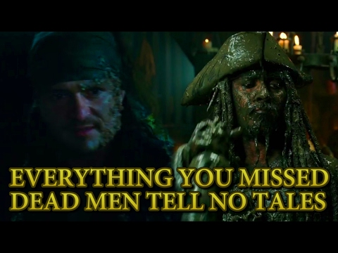 Everything You Missed From Pirates Of The Caribbean Dead Men Tell No Tales Official Trailer