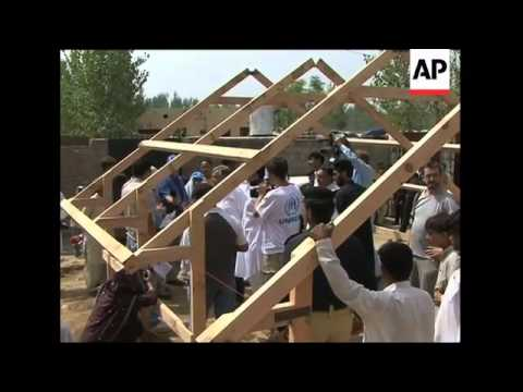 UNHCR visiting villages and Afghan refugee settlements