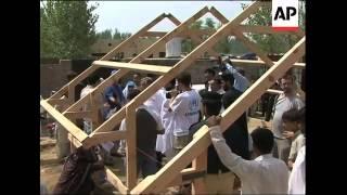 UNHCR visiting villages and Afghan refugee settlements