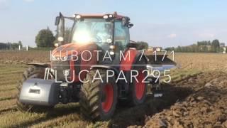 Repeat youtube video Prova KUBOTA M7.171 trivomero ERMO