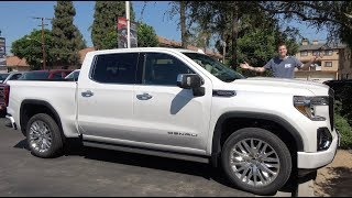 Here's Why the 2019 GMC Sierra Denali Is the King of the Luxury Truck