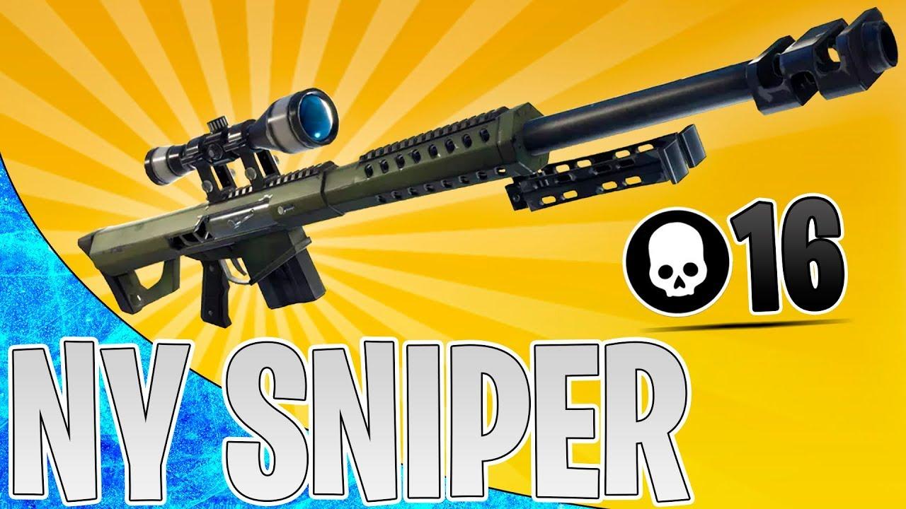 NY OP SNIPER! (Sniper Shootout) | Dansk Fortnite