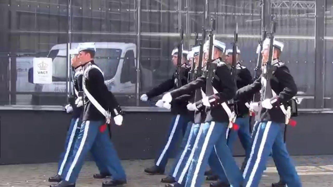 den kongelige livgarde vagtskifte
