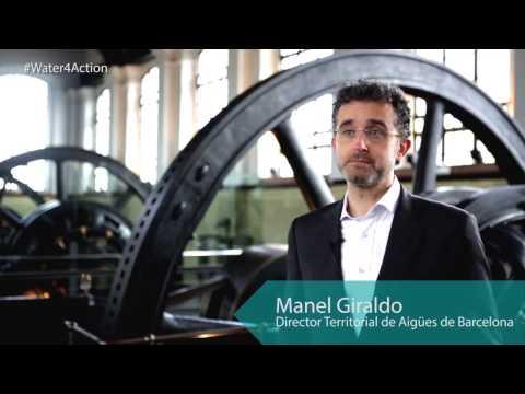 Aigües de Barcelona, 150 años comprometidos con el agua, las personas y la ciudad.