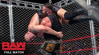 FULL MATCH - Big Show vs. Braun Strowman - Steel Cage Match: Raw, Sept. 4, 2017