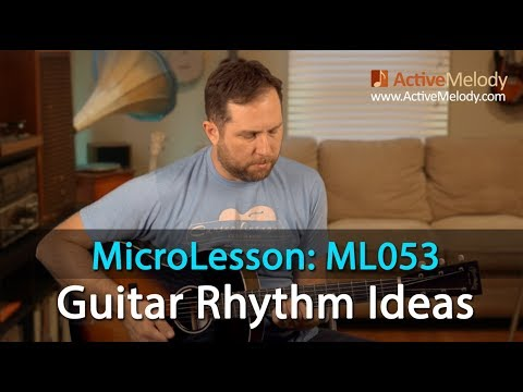 Blues Rhythm Ideas For a 1, 4, 5 Chord Progression - Blues Rhythm ...