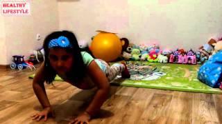 Упражнения для детей. Занятия дома.(Упражнения для детей. Занятия дома. Упражнения от детей детям. Если понравилось ставьте ЛАЙК и оставьте..., 2015-11-03T18:57:15.000Z)