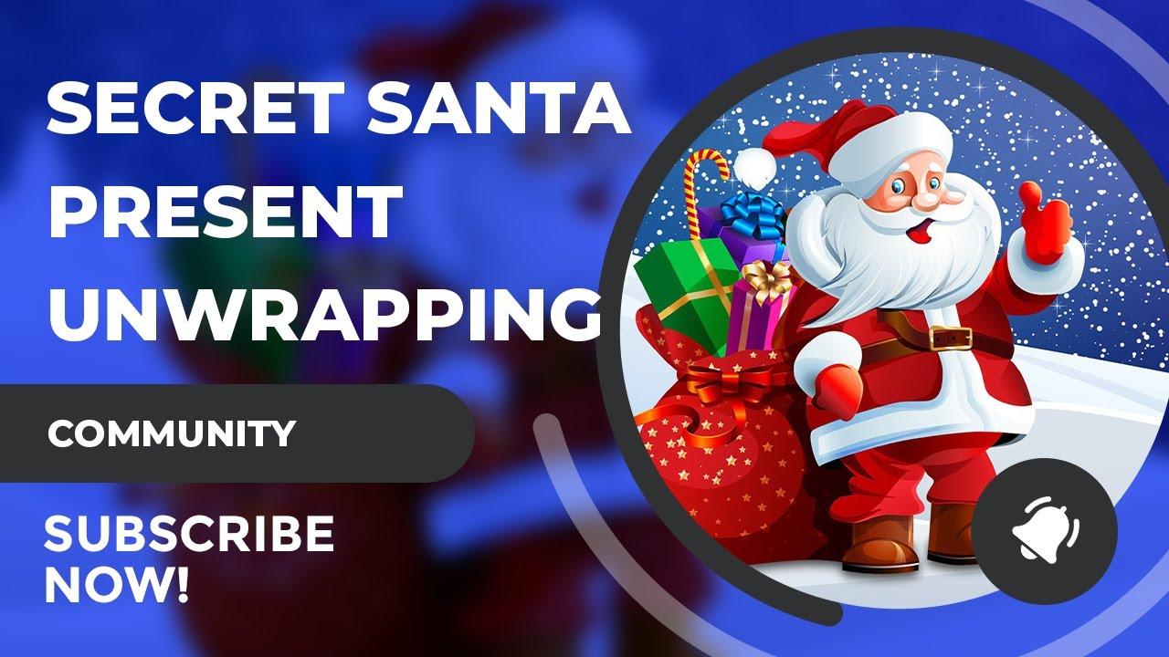 SciFiantasy Secret Santa Present Opening!