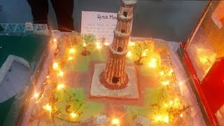 how to make qutub minar model -3D Monument Model