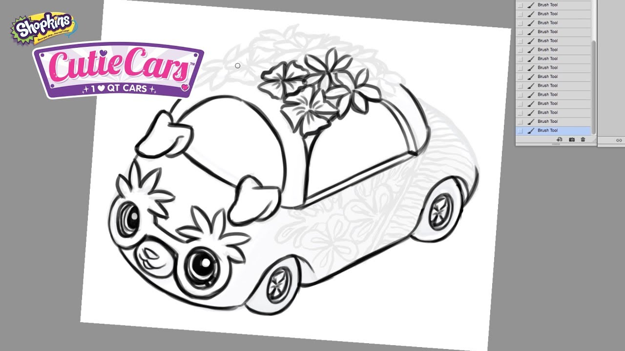 How To Design Your Very Own Cutie Car With Sandra From Sandraroo Youtube