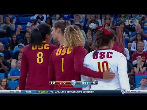USC at UCLA - NCAA Womens Volleyball (Sept 23rd 2015)