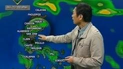 24Oras: Pagasa: Hanging amihan at tail-end ng cold front, magpapaulan sa Northern at Central Luzon
