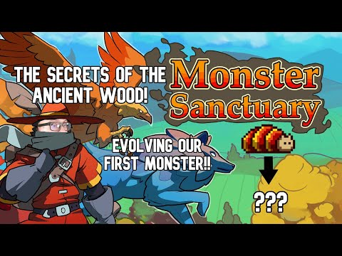 EVOLVING our First Monster! Monster Sanctuary Episode 4 |