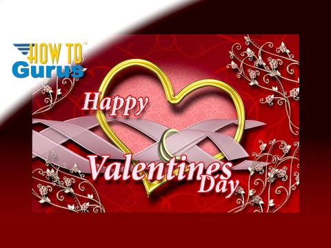 How To Make an Elegant Valentines Card in Photoshop Elements 2018 ...