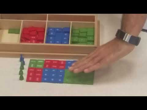 Double Digit Multiplication With Stamp Game
