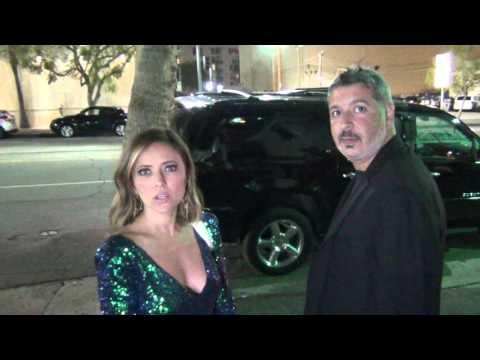 Christine Lakin talks about Kim Kardashian at Reality TV Awards