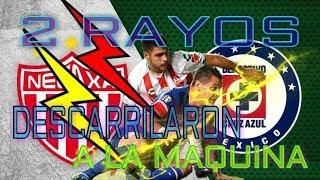 RESUMEN NECAXA VS CRUZ AZUL JORNADA 9 LIGA BANCOMER MX /2-0