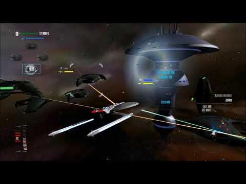 Star Trek Legacy: Ultimate Universe 2.2 - Tal Shiar Warbirds vs. 32 Federation Ships + Starbase!
