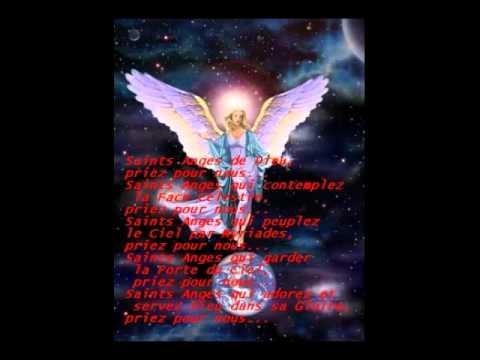 Litanies en l'honneur des Saints Anges