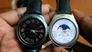 Samsung Gear S2 Classic PLATINUM - Hands on & comparison.