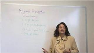 Forensic Accounting Career Information : Forensic Accounting Qualifications