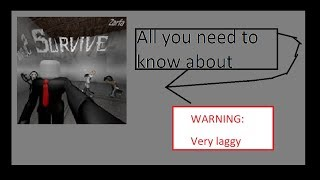 All you need to know about: Survive and kill (ROBLOX)