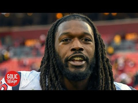 Jadeveon Clowney to the Seahawks is a big loss for the Texans - Mike Golic Jr. | Golic and Wingo