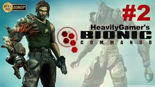 Bionic Commando Gameplay Walkthrough (PC) Part 2:Shield Biomech/Damn Snipers,They Killing My Ass!