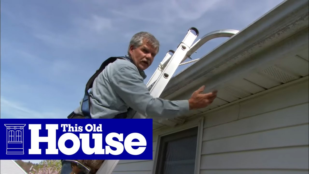 Bathroom Vent Fan >> How to Vent a Bath Fan Through the Roof | This Old House - YouTube