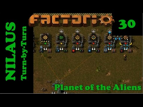 Lets Play Factorio S5E30 - Advanced Alien DNA production